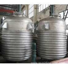 Oil heating stainless steel high pressure reactor