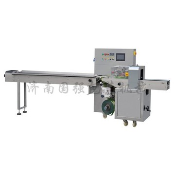 Automatic sticky food horizontal pillow packaging machine