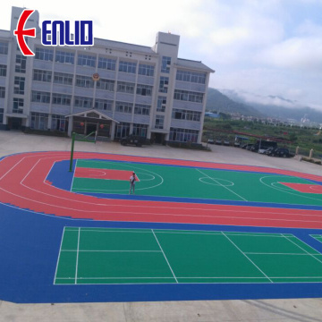 FIBA 3X3 Basketball Court Tiles