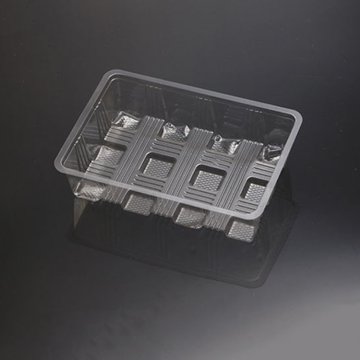clear blister vacuum forming food packaging trays