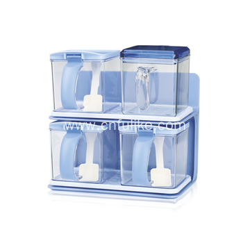 High Quality Plastic Compartment Condiment Holder
