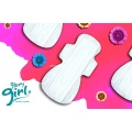 Super absorbent  female cotton sanitary pad brands