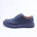 Outlet Black Lace-up Casual Shoes for Men