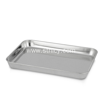 Stainless Steel Baking Tray Food Serving Tray