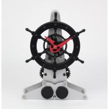 Rudder Mode Gear Desk Clock