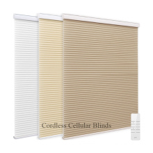 Cordless Automated Window Honeycomb Cellular Blinds