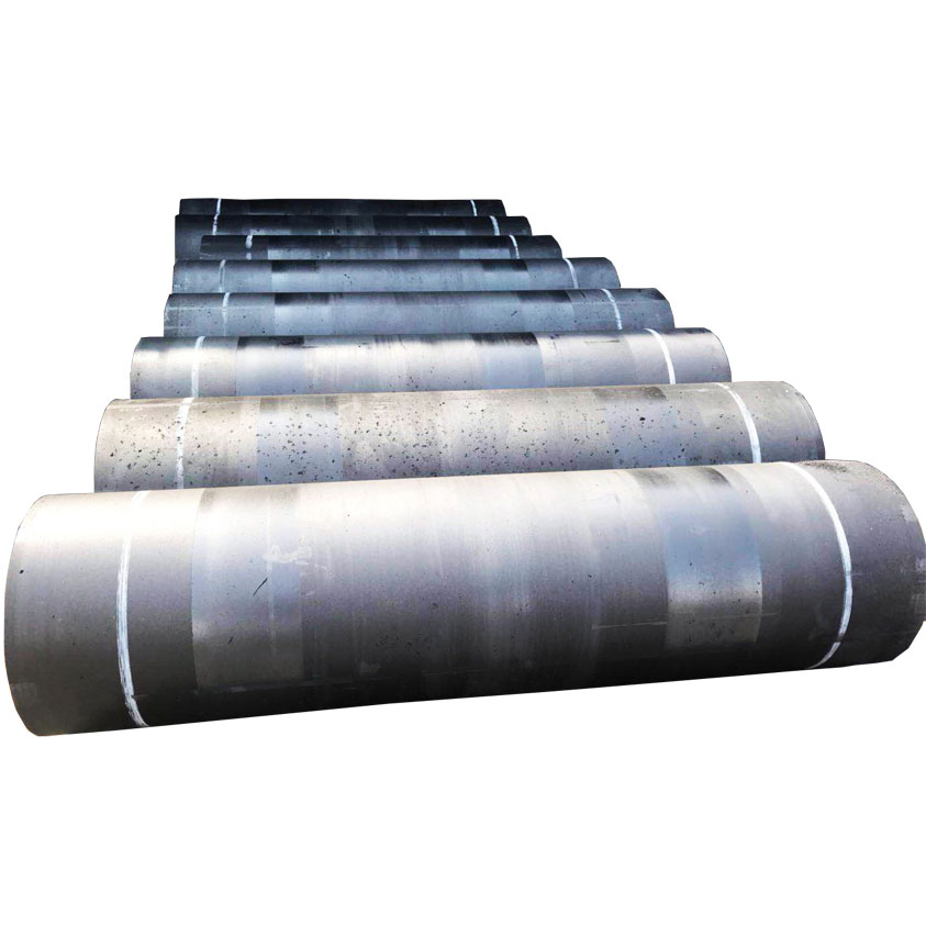 Length 1800mm-2700mm UHP 300 400 450 Graphite Electrode