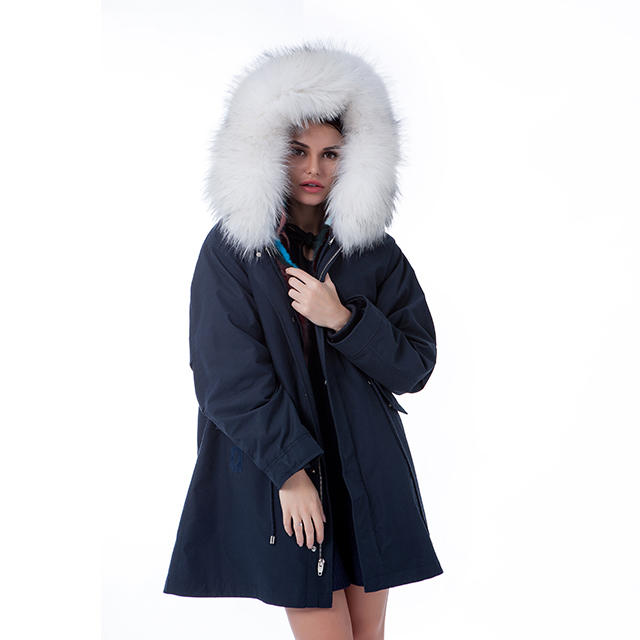 Fur winter outwear