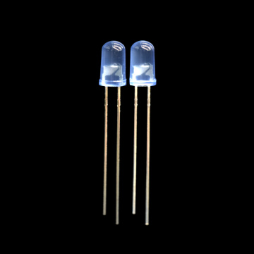5mm Flashing Blue LED with Blue Diffused Lens
