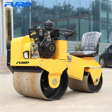 Road Construction Equipment Vibratory Double Drum Roller Compactor