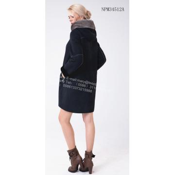 Women Spain Merino Shearling Jacket