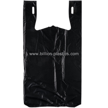 High Density Black Grocery Shopping Bags