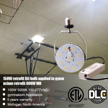 80W Led Pole Lights Retrofit Metal Halide Replacement