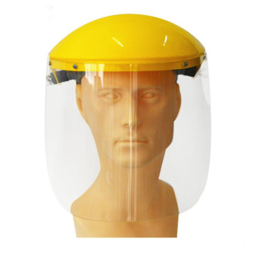 Protective splash face shield PVC mask