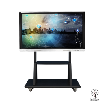 65 Inches UHD Panel Display with mobile stand