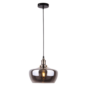Modern chandelier bulb shaped glass pendant hanging light