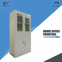 Grey office filing cabinet locking file cabinet