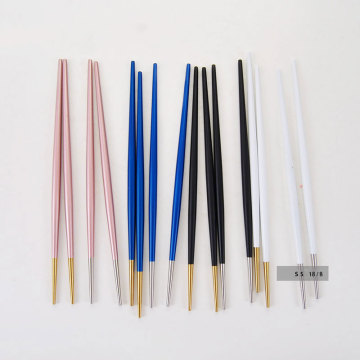stainless Japanese Customized Colored  Chopsticks