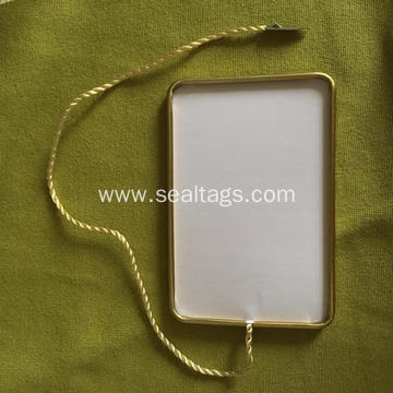 Customized Garment Aluminum Seal Tag