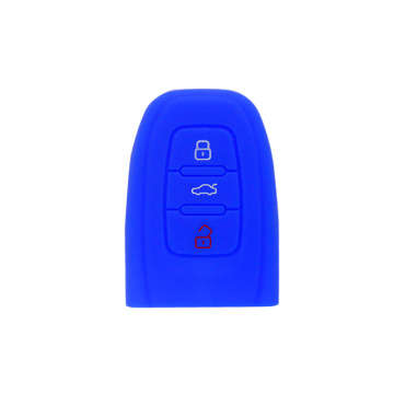 OEM silicone gel car key case for Audi