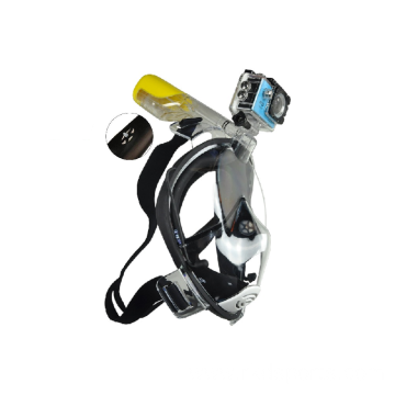Patented design full face snorkeling mask