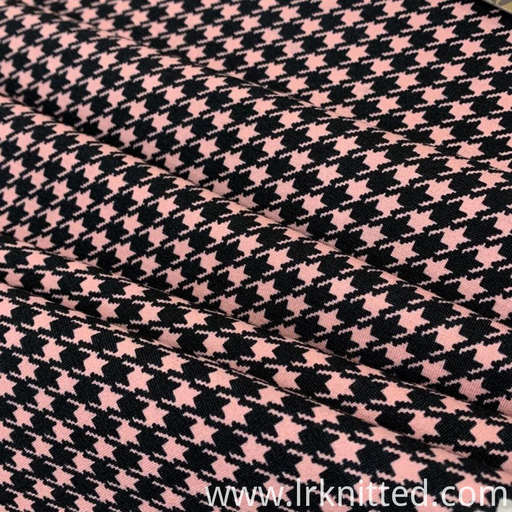 Hound Tooth Check Fabric