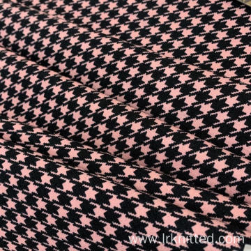 Hound Tooth Check Printed Fabric