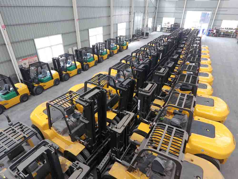 shantui forklift warehouse