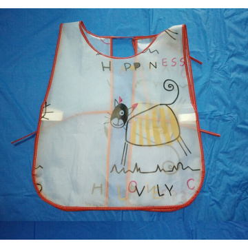PEVA promotional kids painting apron