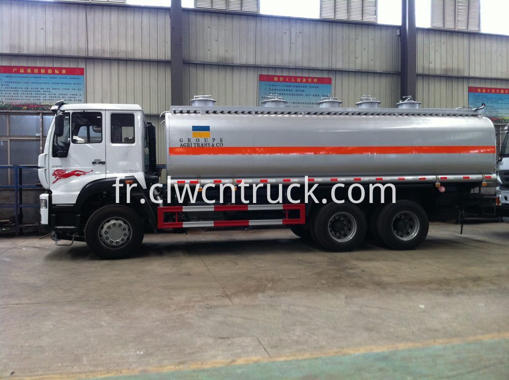 gasoline transport tank truck 1