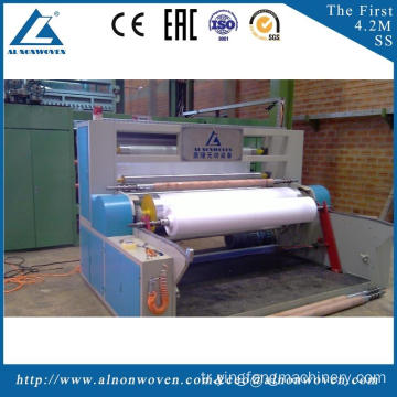 Best automatic AL-1600 SS 1600mm non woven fabrics making machinery with great price and service