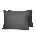 Colored Double Brushed Microfiber pillow cases