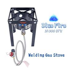 37000BTU Camping Outdoor Burner Stove Gas Cooking Cooker