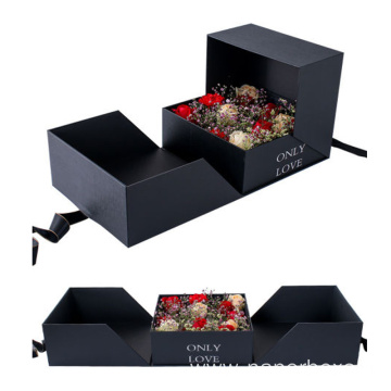 Fancy Irregular Flower/Cake Paper Packaging Gift Box