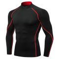 Men compression shirt long sleeve