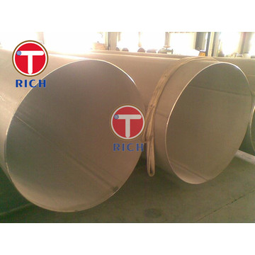 duplex 2507  600mm  ERW Stainless Steel Pipe