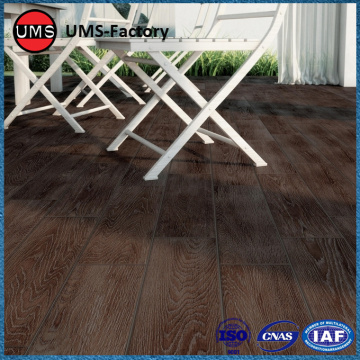 Porcelain wood effect tiles for outside
