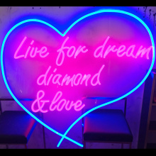 Heart Shaped LED NEON каттар