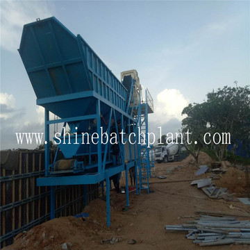 Burma Medium Mobile Concrete Batch Plant Cost