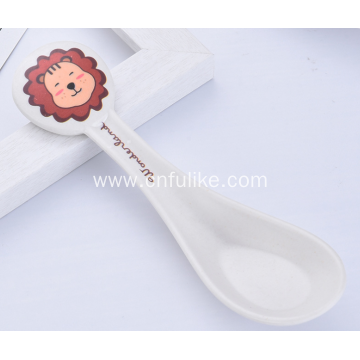 Cartoon Spoon for Toddler and Children