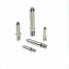 CNC Machined External Aluminum Threaded Dowel Pin