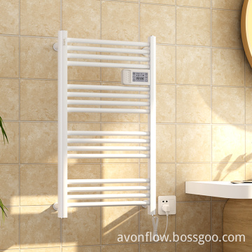 AVONFLOW Chrome Hotel Style Heated Towel Rack Electric CE ETL NF Certificated Towel Warmer