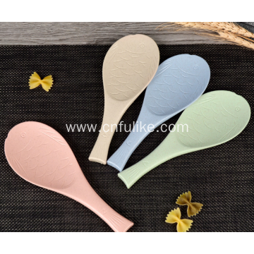 Lovely Fish Shape Plastic Rice Spoon