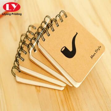 Hard cardboard cover custom  mini notepad