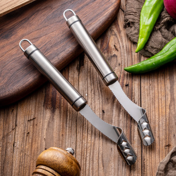 Food Grade Vegetable 304 Stainless Steel Seeded Tools