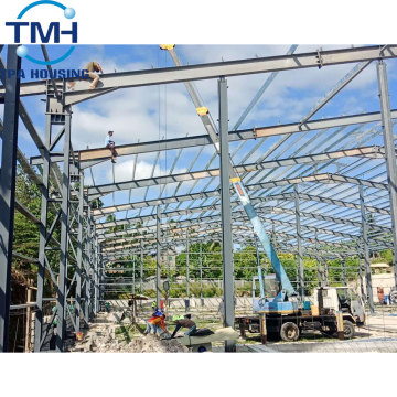 structural steel prefab industrial warehouse shed for rent