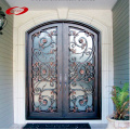 Double Wrought Iron Doors