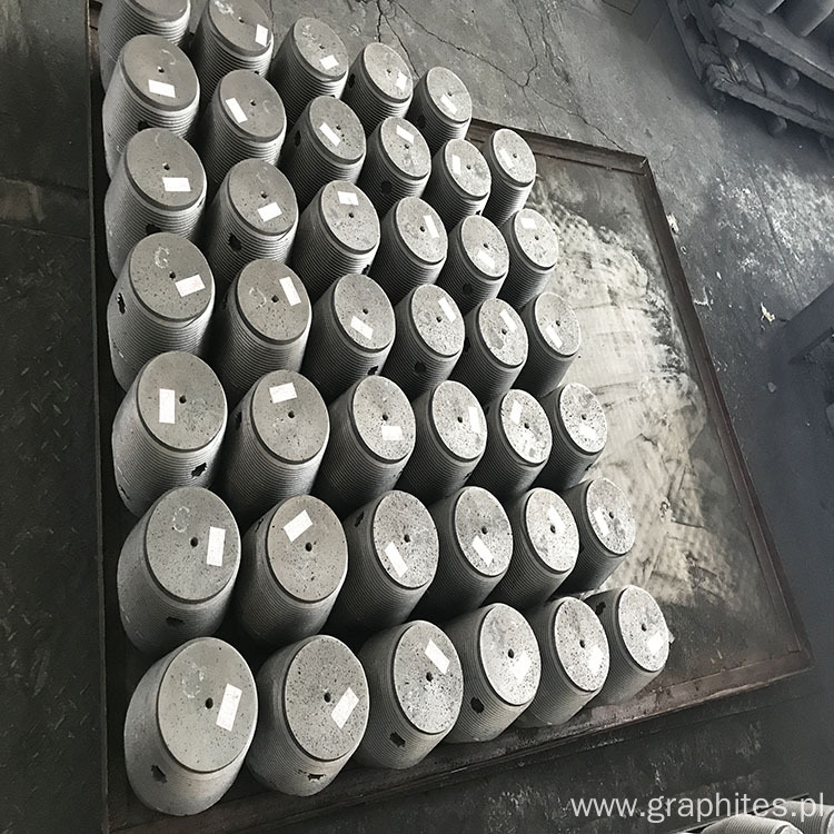 High Bulk Density Graphite Electrode HP300*1800 Length
