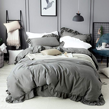 Cotton Ruffles Design Duvet Covers
