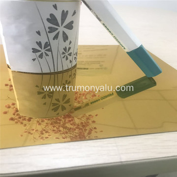 Golden Epoxy 87 Percentage Reflective Aluminum Foil Roll